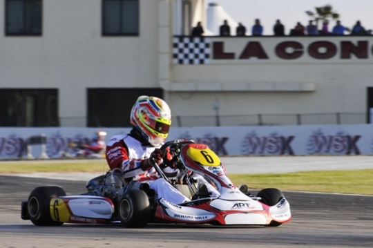 The WSK Champions Cup sets the stand on fire at La Conca