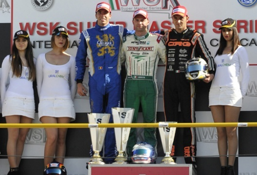 The WSK Super Master Series has its winners