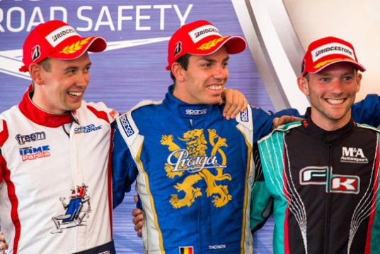 After Wackersdorf, Dreezen and Juodvirsis lead the European CIK-FIA Champs