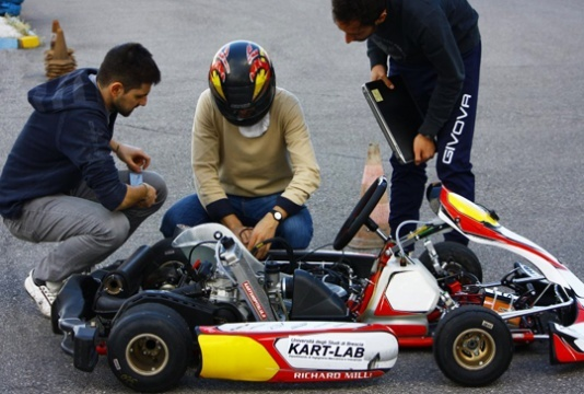 ART Grand Prix launches Kart_Lab with Italian University