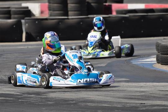 Los Angeles Karting Championship, CalSpeed Karting Center - Round 8, September 18 2016