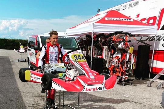 Luca Bosco joins the Charles Leclerc Kart line-up