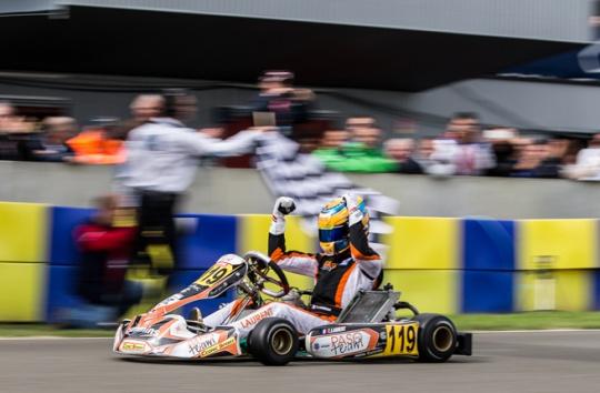 Laurent claims KZ2 Super Cup