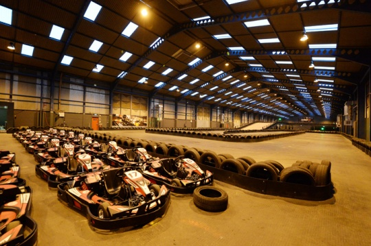 Elta Fans Get on Track for Go Karting Project in Liverpool