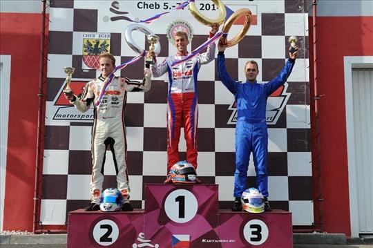 Jan Midrla retains title in Czech Championsip