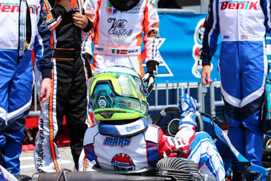 Luca Mars joins Team Benik for remainder of 2016 kart season