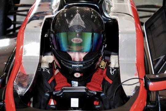 Marta Garcia Lopez leaves karting
