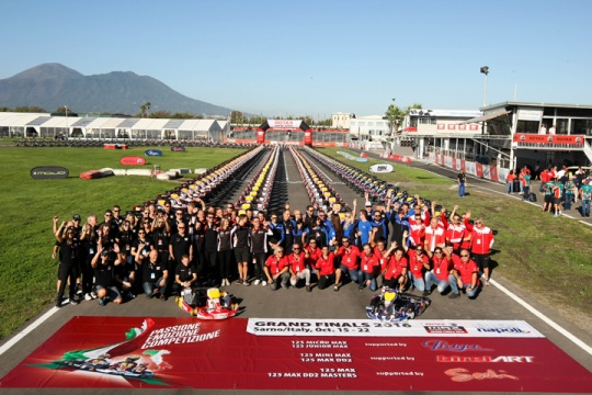 Rotax MAX Challenge Grand Finals Day 1 - October 16, 2016