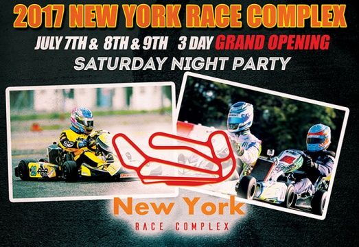 New York Race Complex is set for 2017