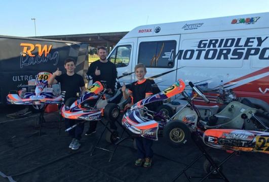 Trio share top score status at  DVS Sunbelt Kart Series