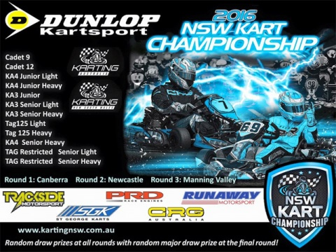 NSW State Karting Championships kick off at Circuit Mark Webber this Friday