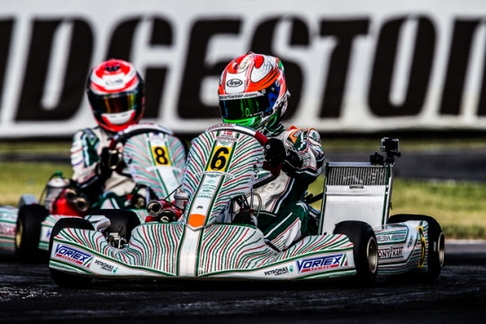 Nielsen (KF) and Lappalainen (KFJ) on pole at World Champs in La Conca