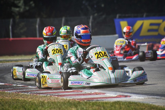New provisional standings of the WSK Super Master Series