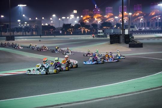 CIK-FIA OK Junior World Championship final race video