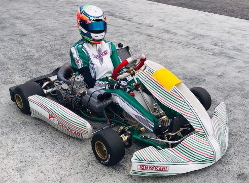Stadsbader joins Tony Kart Racing Team