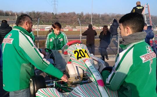"Pedro HIltbrand: ""We have to wait Le Cont tyres"""