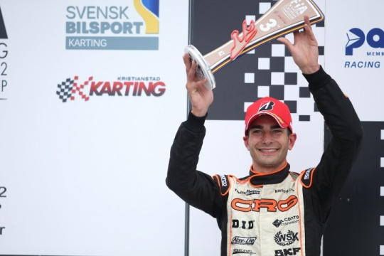 CRG and Paolo De Conto confirmed to be European Champions in KZ in Sweden