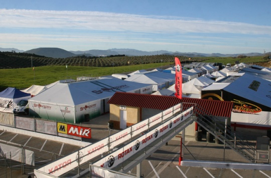ROTAX racing starts again with the 2015 Winter Cup