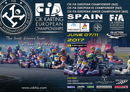 The CIK-FIA European championship moves to Spain