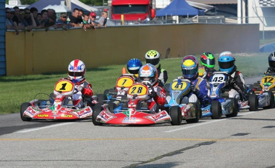 Birel continues to dominate Junior programs of WKA Manufacturers Cup