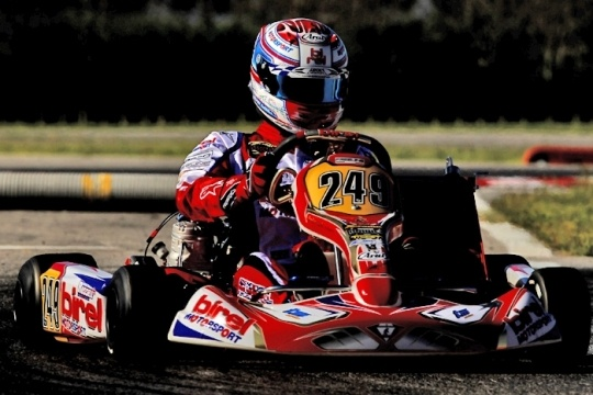 Positive performances for new Birel chassis at Euro KF