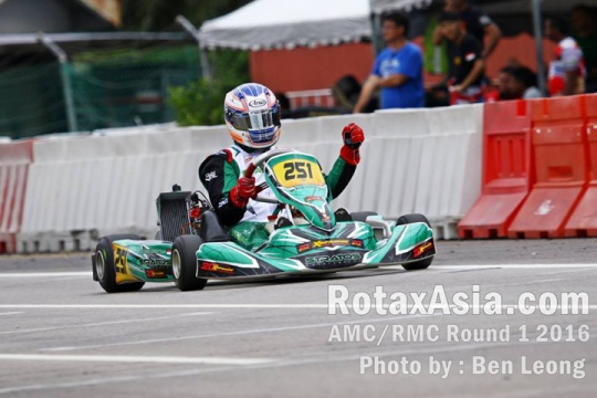First round of Rotax Max Asia Challenge at Sepang