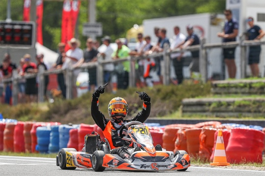 Rotax MAX Euro Challenge, Salbris - Round 2, May 28th 2017