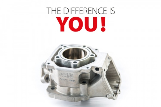 New cylinder manufacturing technology for Rotax engines