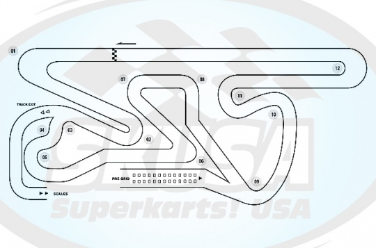SKUSA unveils Supernationals XIX track design