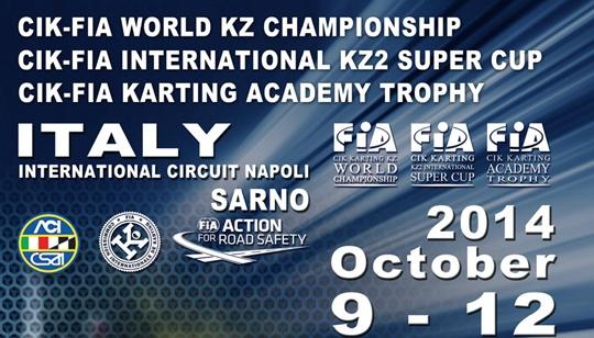 The World CIK-FIA Championship in Sarno