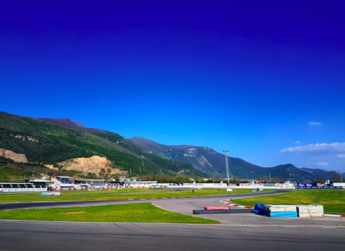 Kart Grand Prix of Italy - Friday: Aron and Maloney post the best laps