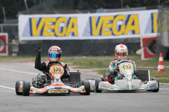 Winning performances for all CRG drivers in the Margutti Trophy