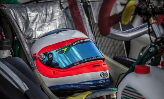 Rubens Barrichello returns on karting for the 2016 CIK-FIA World KZ Championship