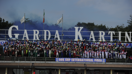 422 rokkers on grid for the 14th Rok Cup International Finals's edition