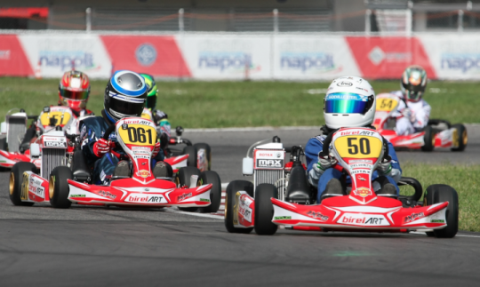 RMCGF - Jayden Els from South Africa triumphs in Mini MAX.