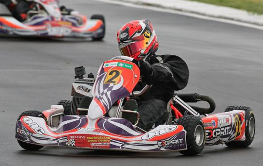 2016 Tremains KartSport NZ North Island Sprint Championships KartSport Hawke's Bay Chemz Raceway Hastings - October 23