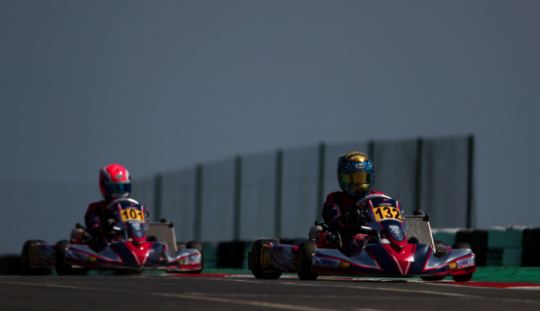 At the World Championship in Bahrain we defend the title