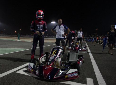 2nd place in OK and 3rd in OKJ in the Bahrain World Championship
