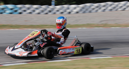 CIK-FIA Asia-Pacific KZ championship - Tom Leuillet signs the first day