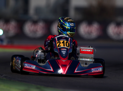 Kosmic Kart: good performance at the first WSK event