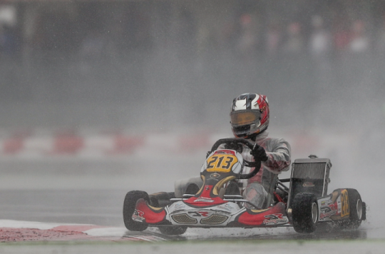 Rewarding results in extreme conditions at the WSK Super Master Series opener