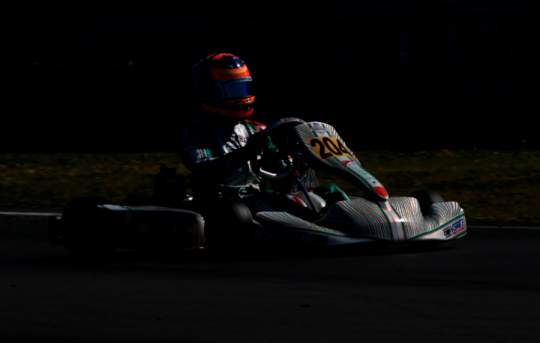 Clement Novalak is the new WSK Super Master Series champion