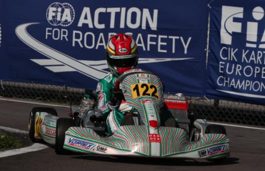 Double podium in the OK for Tony Kart