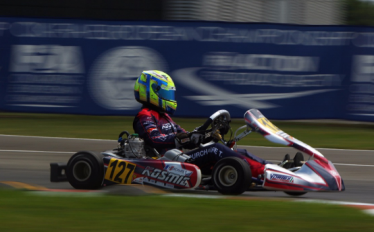 The European Championship stops in Le Mans
