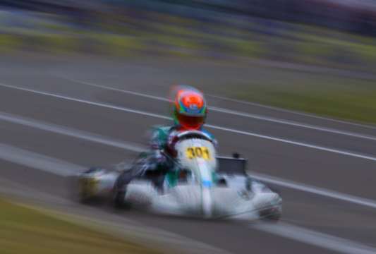 Tony Kart in Sweden for the last round of the CIK-FIA European Championship