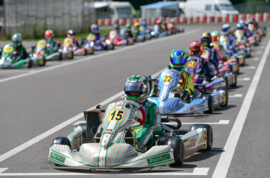 Rotax MAX Euro Challenge, Wackersdorf - Round 3, June 30th 2017