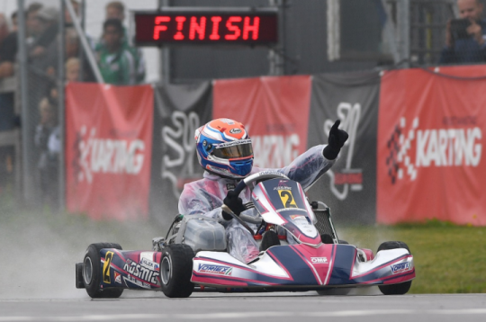 KZ win in Sweden for Kosmic Kart