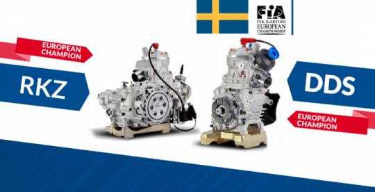 Vortex Engines KZ and OK European champion