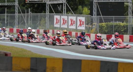 X30 Southeast Asia, KF1 Karting Circuit - Round 5, July 30th