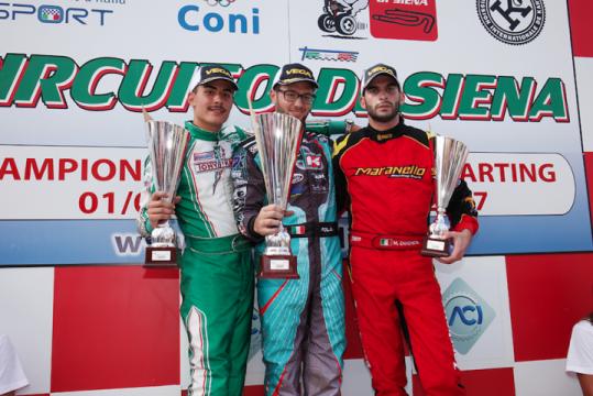 Italian ACI Karting Championship, Siena - Round 5, September 3rd 2017